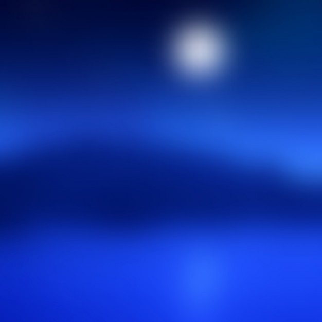 Abstract blur moonlit landscape background Free Vector