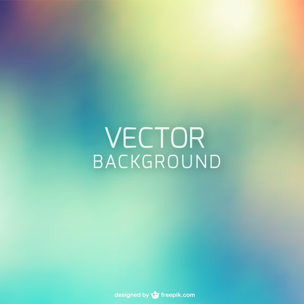 Abstract blurred background Free Vector