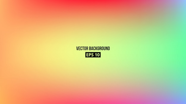 Abstract blurred gradient mesh background. c Premium Vector