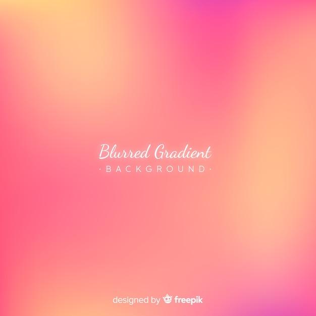Abstract blurred gradient mesh background Premium Vector