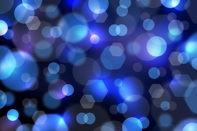 Bokeh astratto con sfondo di luce soffusa Vettore gratuito