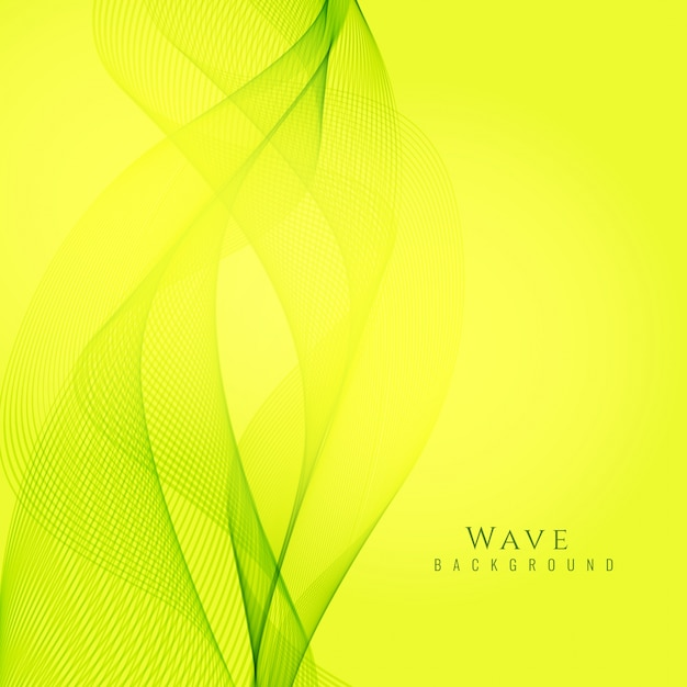 Abstract bright green and yellow background