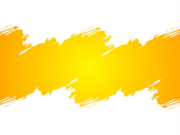 Abstract bright yellow grunge background Free Vector