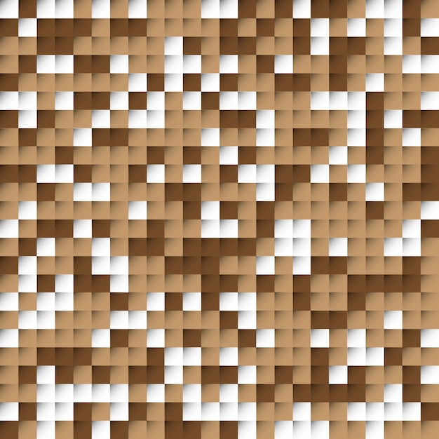 Abstract brown blocks background Free Vector