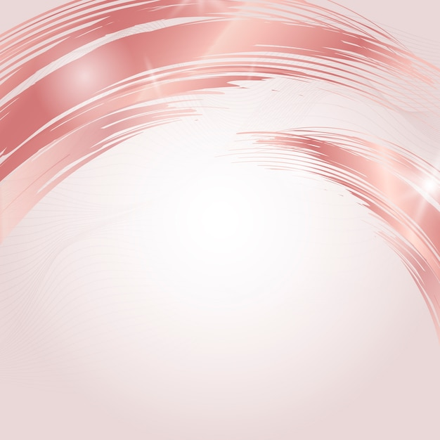 Abstract brush background. fashion theme Free Vector
