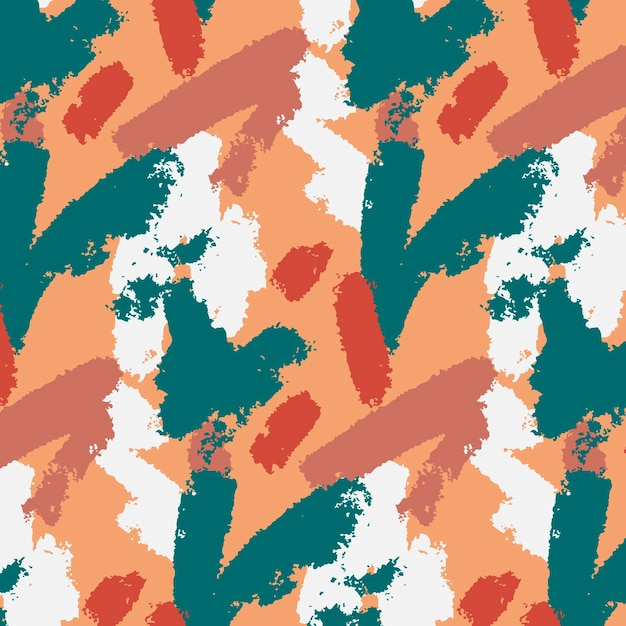 Abstract brush stroke pattern Free Vector