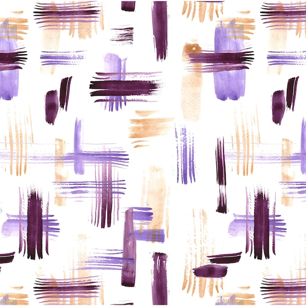 Abstract brush stroke pattern Premium Vector