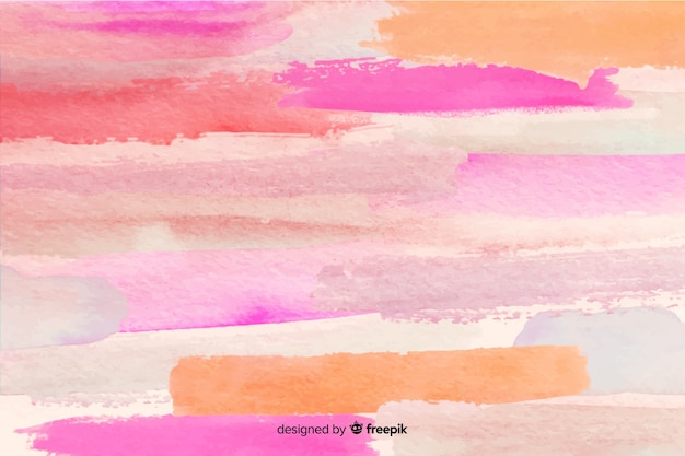 Abstract brush strokes background Free Vector