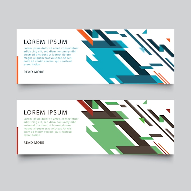 Abstract Business Banner Designs