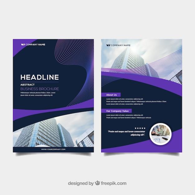 Abstract business brochure in a5 size vector free download abstract business brochure in a5 size free vector colourmoves