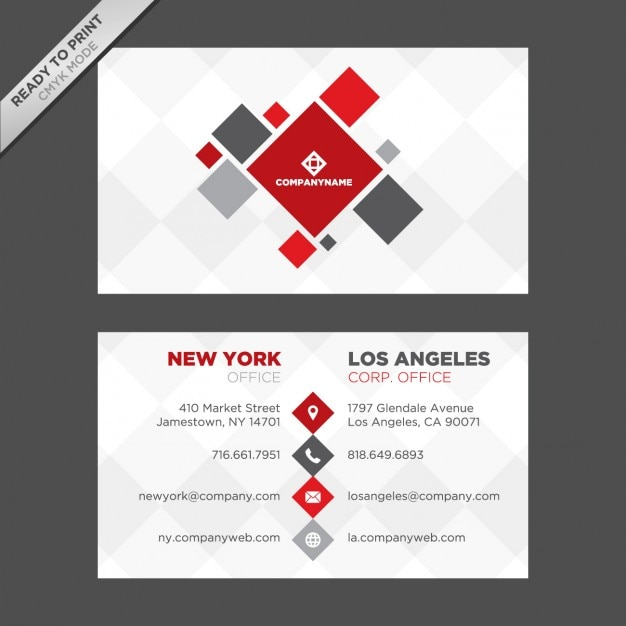 Abstract business card design vector free download abstract business card design free vector reheart Image collections