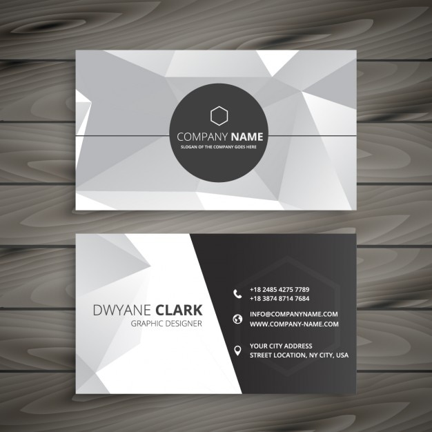 Abstract business card in gray vector free download abstract business card in gray free vector colourmoves