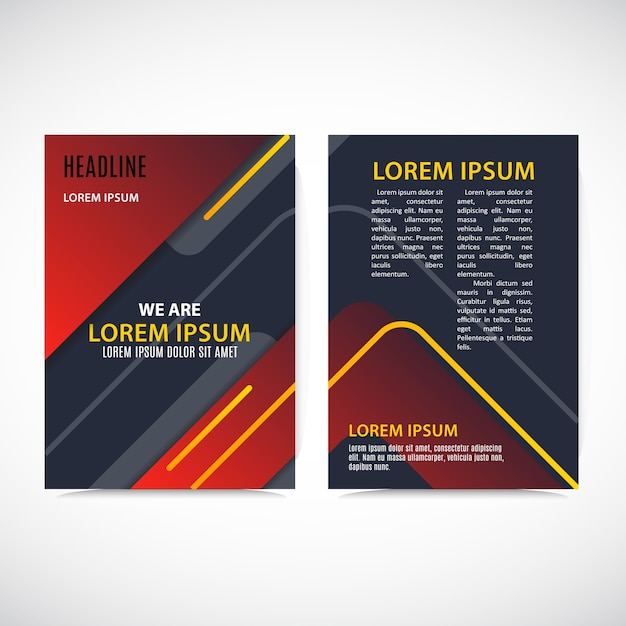 Abstract Business Design Template