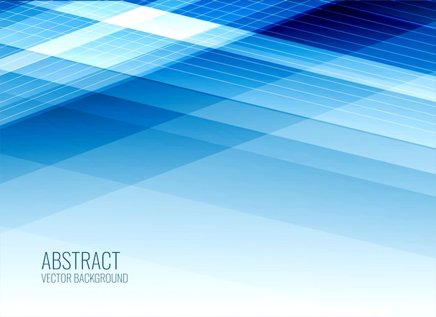 Abstract business style blue background Free Vector