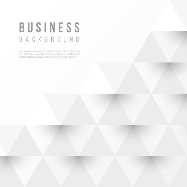 Abstract businness background with geometric shapes Free Vector