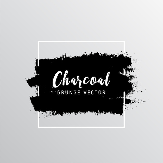 Abstract charcoal background Free Vector