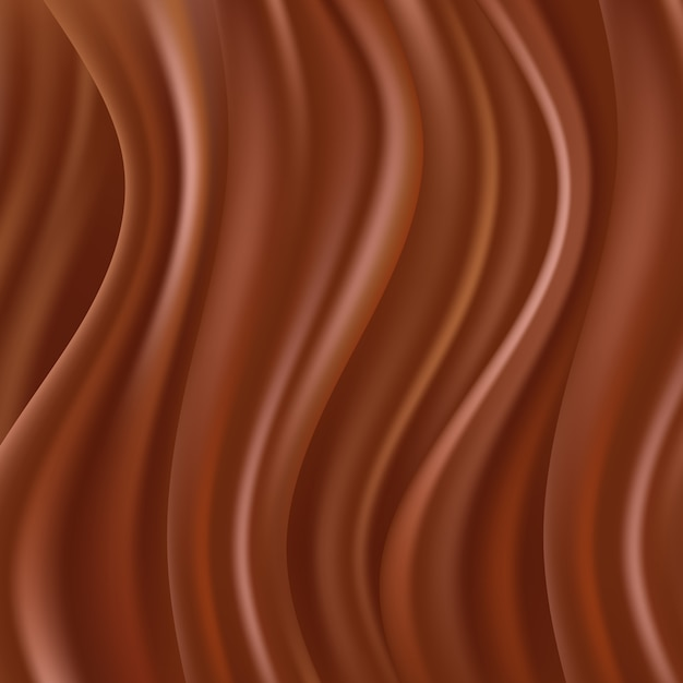 Abstract chocolate background Premium Vector