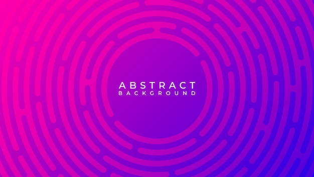 Abstract circle line background Premium Vector