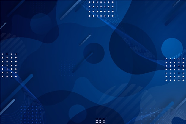 Abstract classic blue background Free Vector