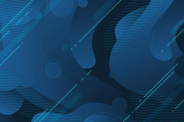 Abstract classic blue modern background Free Vector