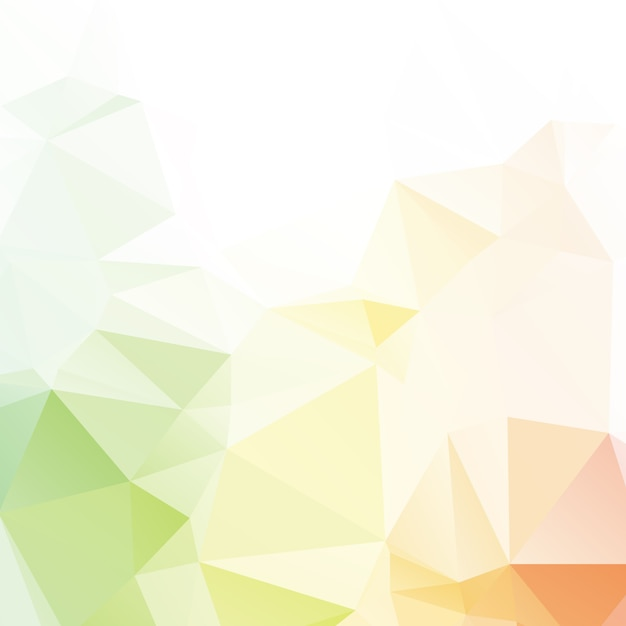 Abstract color polygon background design Premium Vector