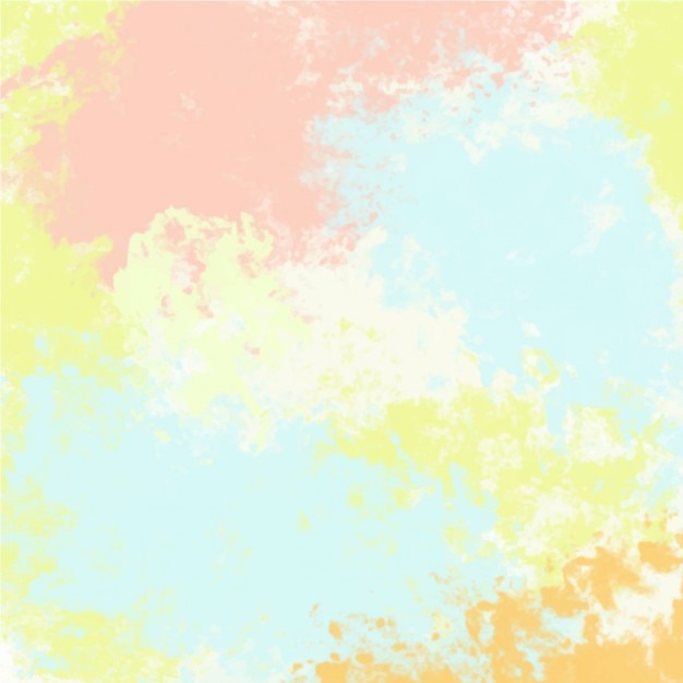 Abstract colorful background with watercolor stains