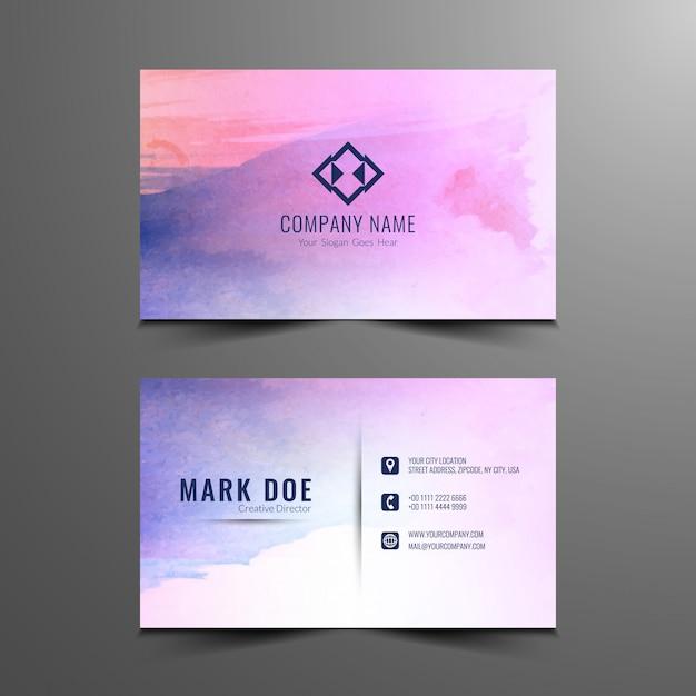 Abstract colorful business card design vector free download abstract colorful business card design free vector colourmoves