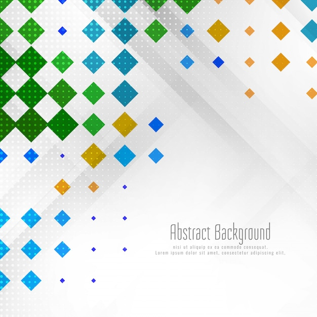 Abstract colorful geometric background Free Vector