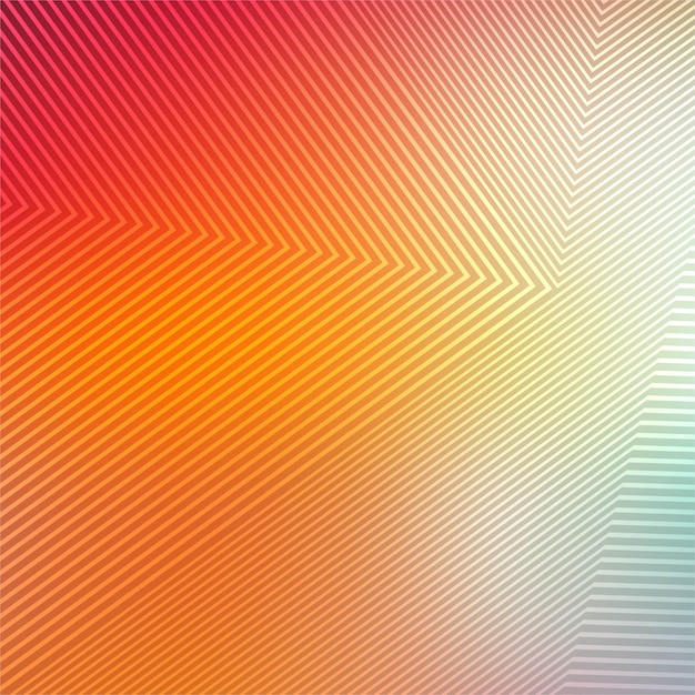 Abstract colorful geometric lines background Free Vector