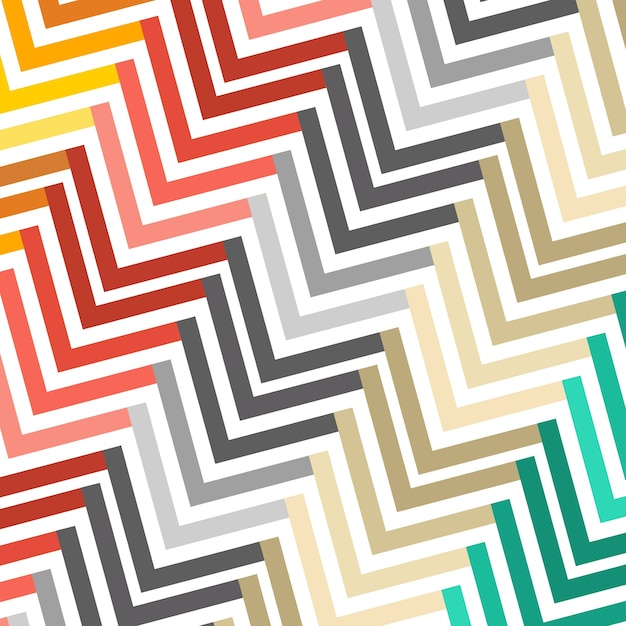 Abstract colorful geometric pattern Free Vector
