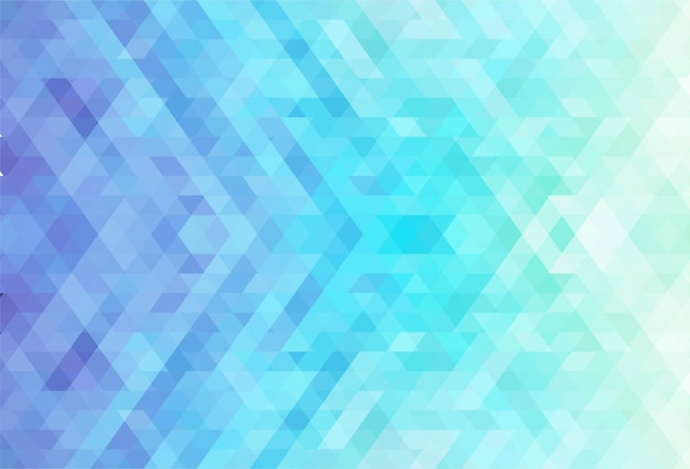 Abstract colorful geometric shapes creative background Free Vector