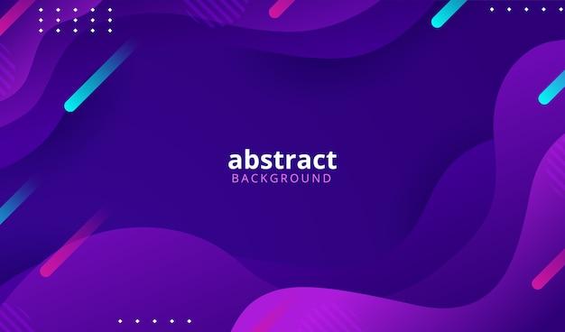抽象的なカラフルなグラデーションの幾何学的形状の背景 Premiumベクター