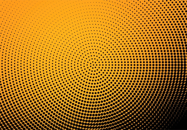Abstract colorful halftone background Free Vector