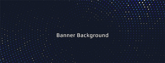 Abstract colorful halftone banner design Free Vector