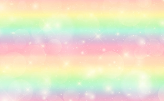 Abstract colorful rainbow background Premium Vector