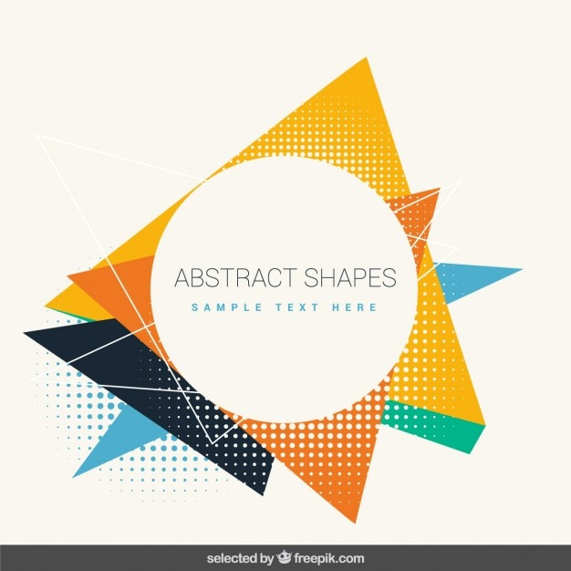 Group of Vector Shapes Download