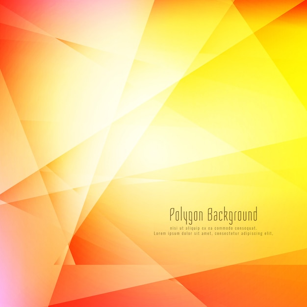 Abstract colorful stylish geometric background Free Vector