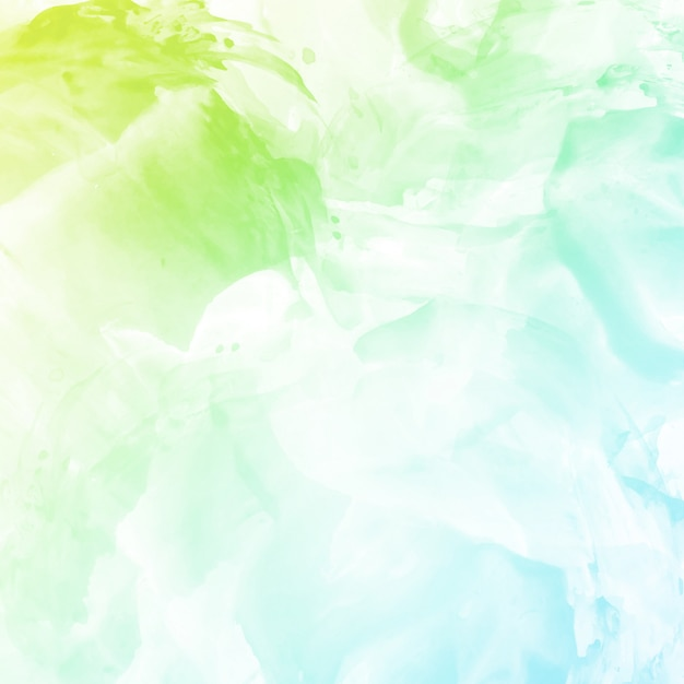 Abstract colorful watercolor background design Free Vector