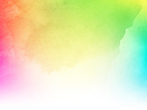 Абстрактный красочный акварельный дизайн текстуры фона Бесплатные векторы