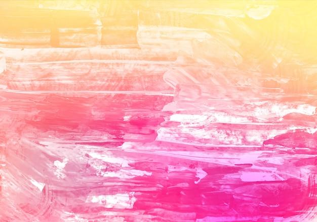 抽象的なカラフルな水彩テクスチャ背景 無料ベクター