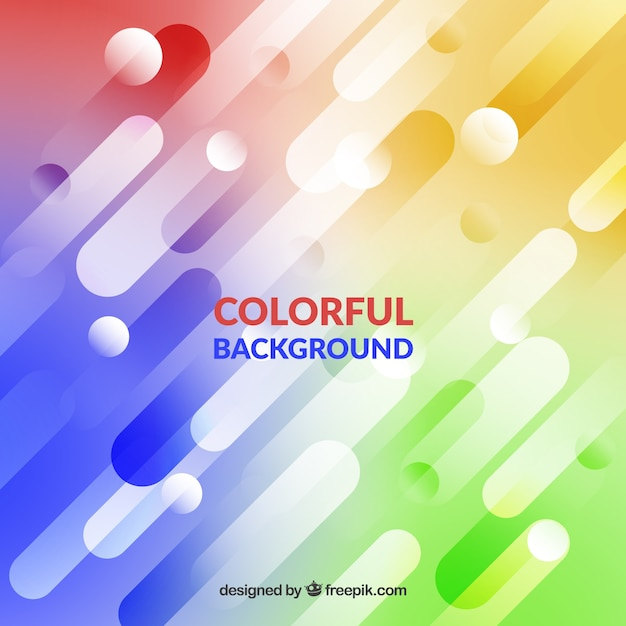Abstract colourful blurred background
