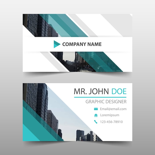 Abstract corporate business card vector free download abstract corporate business card free vector reheart Images