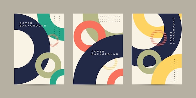 Abstract cover background Premium Vector