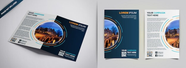 Abstract cover design template Premium Vector