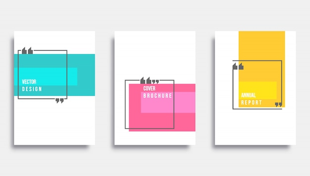 Abstract cover design Premium Vector