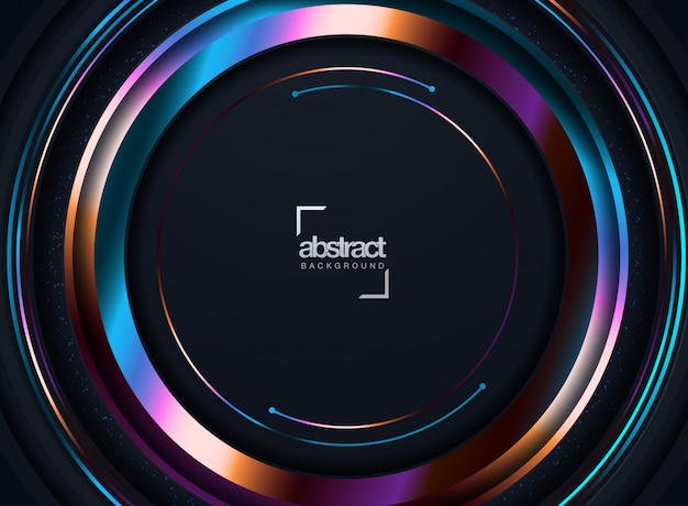 Abstract cover design. Premium Vector