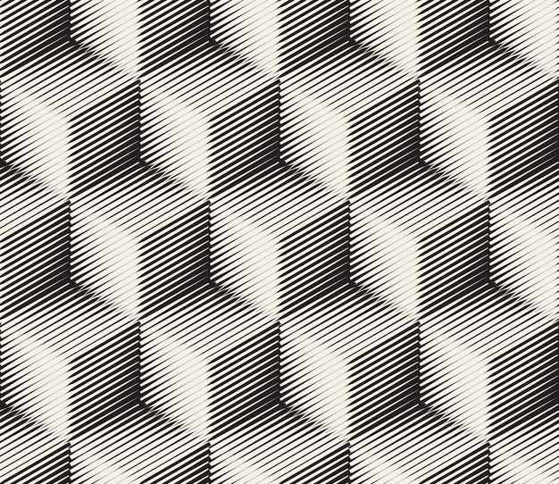 Abstract cube pattern Free Vector