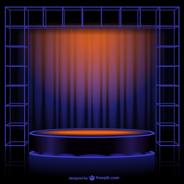 Abstract curtain vector vector free download for Theatre curtains psd
