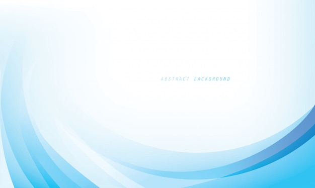 Abstract curve framing for background template Premium Vector