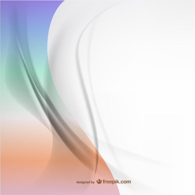 Abstract curvy lines background Free Vector